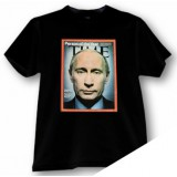 Футболка M Путин, размер М