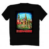 Футболка L Москва Красная Площадь L черная