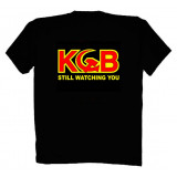 Футболка XXL Я работаю в КГБ XXL черная