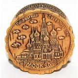 Береста шкатулка Собор Москвы