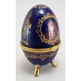 Яйцо пасхальное фарфоровое AJBE152-3 Шкатулка яйцо фарфоровое...