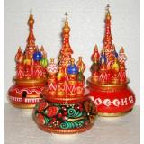 Музыкальный собор - макет средний 25 см, Хохлома, Россия, Арки, асс.