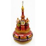Музыкальный собор - макет Арки, красный, 23 см., вращающийся,...