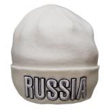 Головной убор шапка шерстяная белая