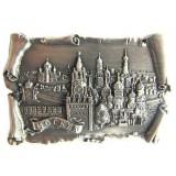 Магнит металлический 027-2ATN-19K23 рельефный свиток Москва...