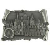 Магнит металлический 027-4ATN-19K24 свиток с печатью Москва...