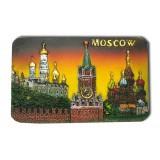 """Магнит полистоун 022-08-19K7-Y прямоуг. рельефный """"Москва..."""