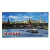 Магнит металлический 02-17 мет. плоский Москва. Панорама К