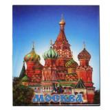 Магнит металлический 02-18 мет. плоский Москва...