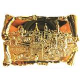 Магнит металлический 027-2GBI-19K23 рельефный свиток Москва...