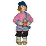 Кукла авторская Галина Масленникова А2-15 Мальчик с игрушкой