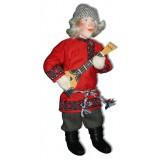 Кукла авторская Галина Масленникова А2-6 Иван с балалайкой