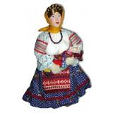 Кукла авторская Галина Масленникова Д9-1 Баба с ребенком