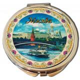 "Зеркало 317CHE-17 Зерк.металографика пл.D7 ""Москва.Панорама"" цвет..."