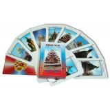 Карты игральные 900-408-R Города России 55 листов