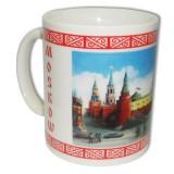 """Кружка 065-7F-17 керамика """"Москва.Панорама"""" цв.синий"""
