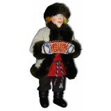 Кукла авторская Галина Масленникова А2-3 Иван в полушубке