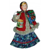 Кукла авторская Галина Масленникова А2-4 Марья с коромыслом
