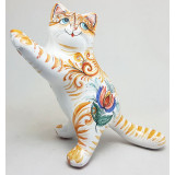 Майолика кошка