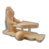 Богородская игрушка пианист