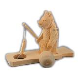 Богородская игрушка Рыбак