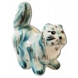 Майолика кошка, хвост трубой
