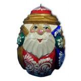 Новый Год и Рождество елочная игрушка Яйцо Дед Мороз Р