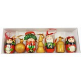 Новый Год и Рождество елочная игрушка набор матрешек...