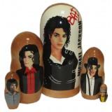 Матрешка популярные певцы Майкл Джексон