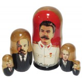 Матрешка политические лидеры Сталин