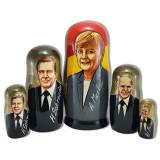 Матрешка политические лидеры Ангела Меркель