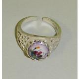 Финифть кольцо перстень Ажурный