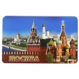 """Магнит виниловый 030-1-19K23 большой """"Москва, Кремлевская стена,..."""