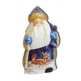Новый Год и Рождество Дед Мороз в синей шапке, подставка для...