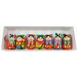 Новый Год и Рождество елочная игрушка набор матрешек с...