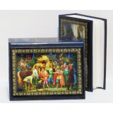 Книга фотоальбом для 96 фотографий 9x13, Сказка Конек Горбунек