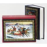Книга фотоальбом для 96 фотографий 9 x 13, Зимняя тройка