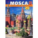 Книга путеводитель по Москве, итальянский язык