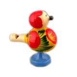 Деревянное изделие игрушка свисток птичка