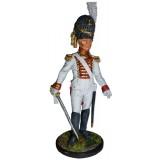 Солдатик оловянный Наполеоновские войны Офицер гвардейских...