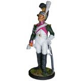 Солдатик оловянный Наполеоновские войны Рядовой 1-й роты (Милан)...