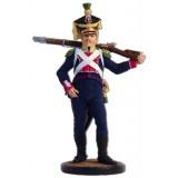 Солдатик оловянный Наполеоновские войны Вольтижёр 8-го пехотного...