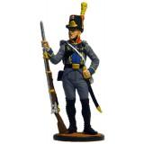 Солдатик оловянный Наполеоновские войны Рядовой пехотного полка...