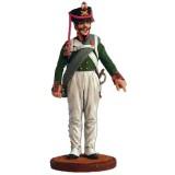 Солдатик оловянный Наполеоновские войны Фейерверкер армейской...