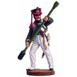 Солдатик оловянный Наполеоновские войны Бомбардир (1 номер)...