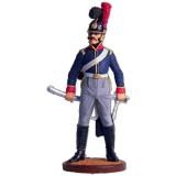Солдатик оловянный Наполеоновские войны Рядовой 6-го кавалерийского...