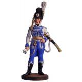 Солдатик оловянный Наполеоновские войны Офицер Конной...