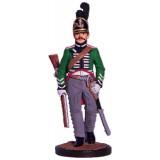Солдатик оловянный Наполеоновские войны Рядовой шеволежерского...