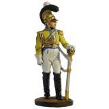 """Солдатик оловянный Наполеоновские войны Офицер полка """"Гард дю..."""