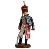 Солдатик оловянный Наполеоновские войны Офицер 15-го лёгкого...